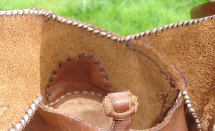 Détails sur la bonne forme de chaussures Couture-talon-ewok
